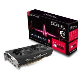 Видеокарта Sapphire Pulse Radeon RX 580 1366Mhz PCI-E 3.0 4096Mb  256 bit 11265-10-20G