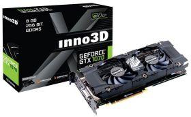 Видеокарта Inno3D GeForce GTX 1070 1506Mhz PCI-E 3.0 8192Mb 256 bit  TWIN X2  V2 N1070-1SDV-P5DN