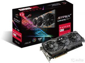 Видеокарта ASUS Radeon RX 580 PCI-E 3.0 1411Mhz 8192Mb 256 bit ROG-STRIX-RX580-T8G-GAMING