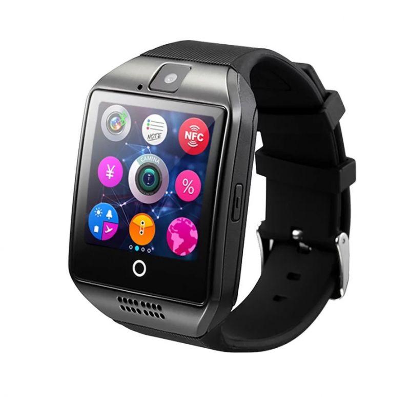 Умные Часы Smart Watch Q18, Цвет Черный