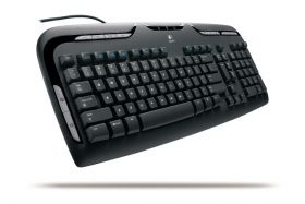 Клавиатура Logitech Media Keyboard 967560 Black PS/2