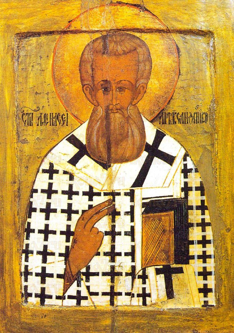 Афанасий Великий (копия иконы 16 века)