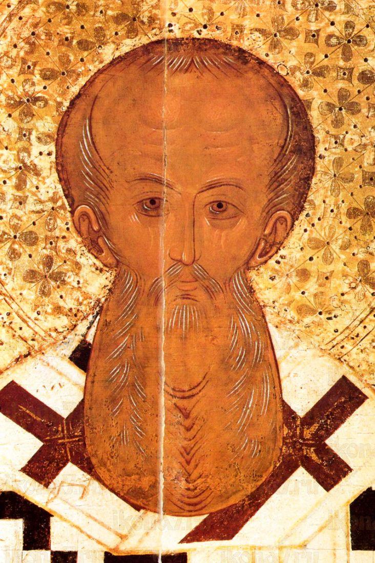 Афанасий Великий (копия старинной иконы)