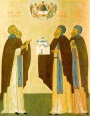 Икона Афанасий и Феодосий Череповецкие