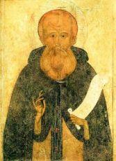 Александр Свирский (копия иконы 16 века)