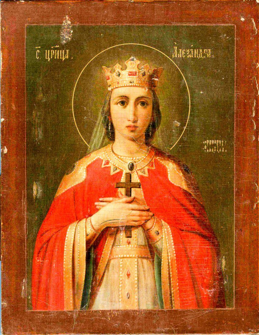 Александра Римская (копия старинной иконы)