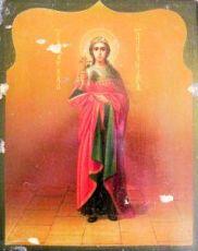 Икона Александра Римская (копия старинной)