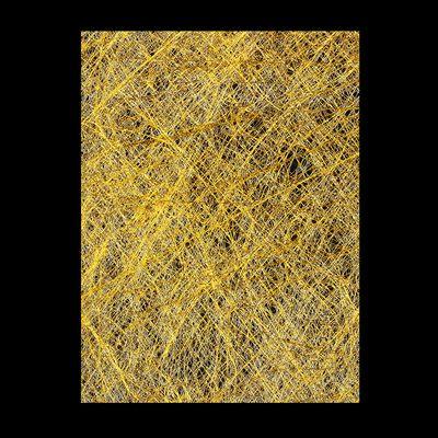 ПАУТИНКА дизайн для ногтей, цвет золото