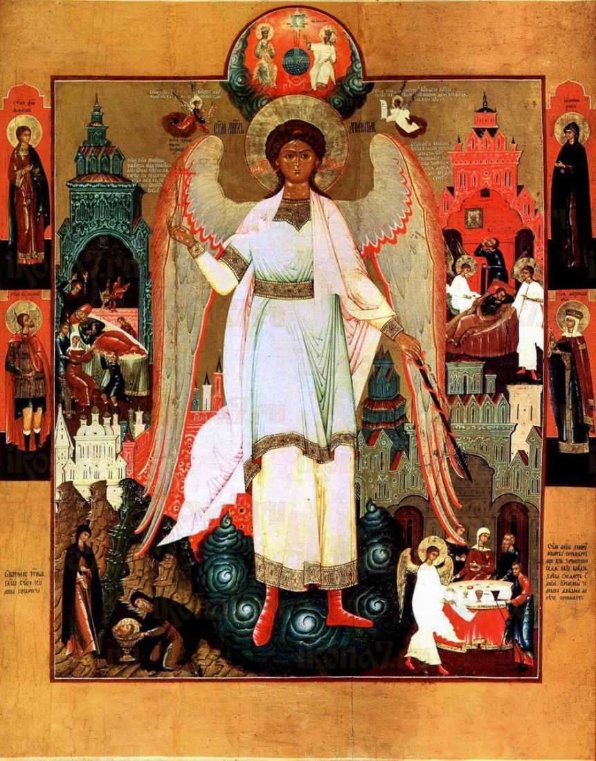 Икона Ангел Хранитель (копия старинной)