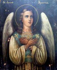 Икона Ангел Хранитель (копия 19 века)