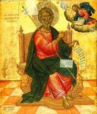 Икона Андрей Первозванный (копия 17 века)