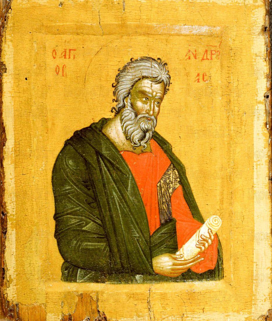 Икона Андрей Первозванный (копия старинной)