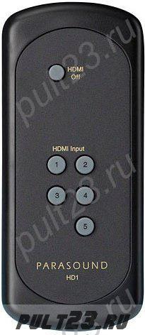 PARASOUND HD1, ZHD  HDMI SWITCHER