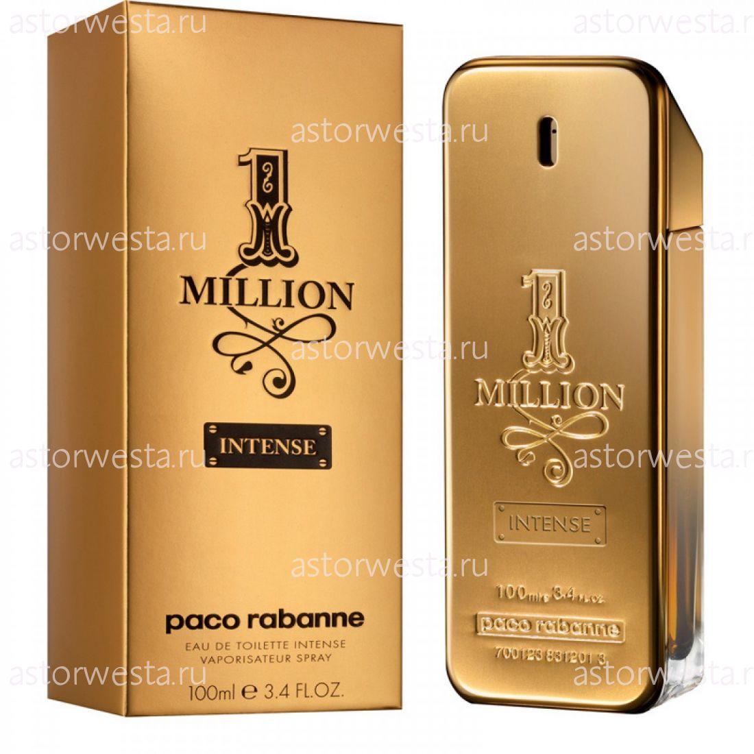 Туалетная вода Paco Rabanne 1 Million Intense, 100 мл
