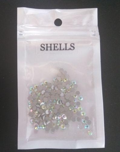 Стразы кристалл AB SHELLS ss10 144 шт.
