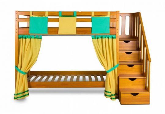 Двухъярусная игровая кровать Альпинист