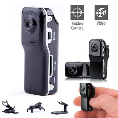 Видеокамера MD80 Mini DV DVR Hidden The World's Smallest Camera Voice Recorder