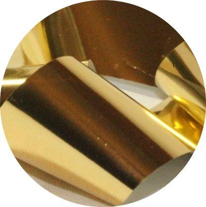 Фольга для литья и кракелюра  Royal (28) золото глянец