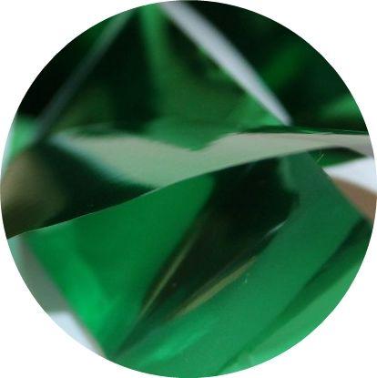 Фольга для литья и кракелюра  Royal (36) зеленый глянец