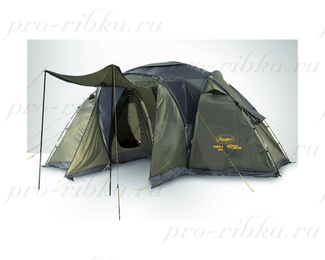 ПАЛАТКА CANADIAN CAMPER SANA 4 plus (ROYAL)