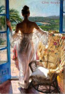 Картина по номерам Утреннее Великолепие Висенте Ромеро Редондо Y0476