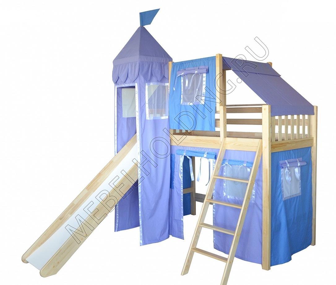 Игровая кровать-чердак Рыцарь-4