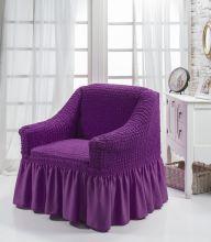 """Чехол для кресла """"BULSAN"""" (фиолетовый)  Арт.1797-13"""