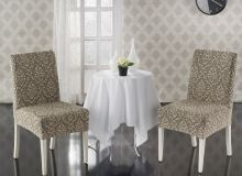 Чехлы на стулья  MILANO (бежевый)  Арт.2911-5