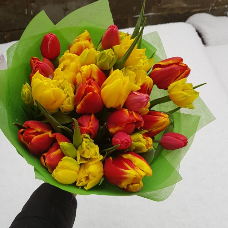 Букет Микс тюльпанов