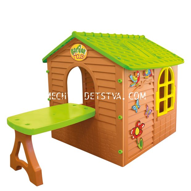 Домик со столом 11045