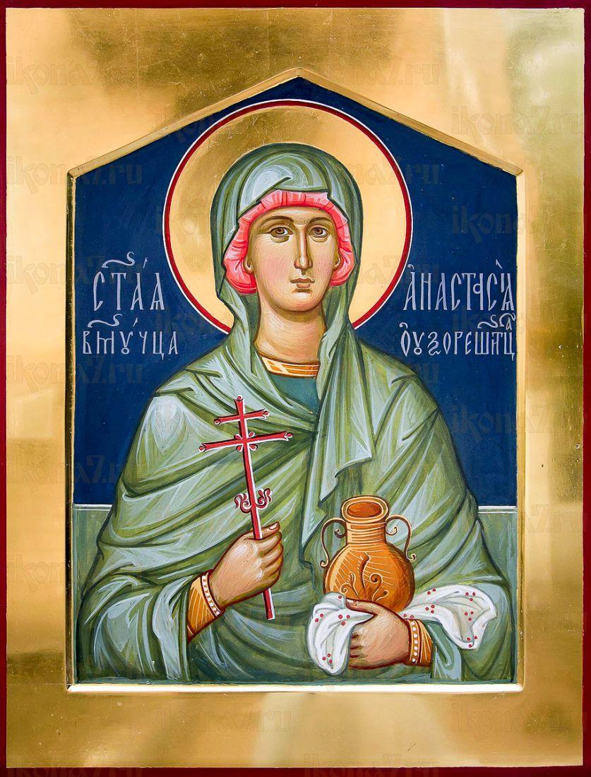 Анастасия Узорешительница (икона на дереве)
