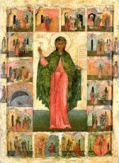 Икона Анастасия Узорешительница (копия 16 века)