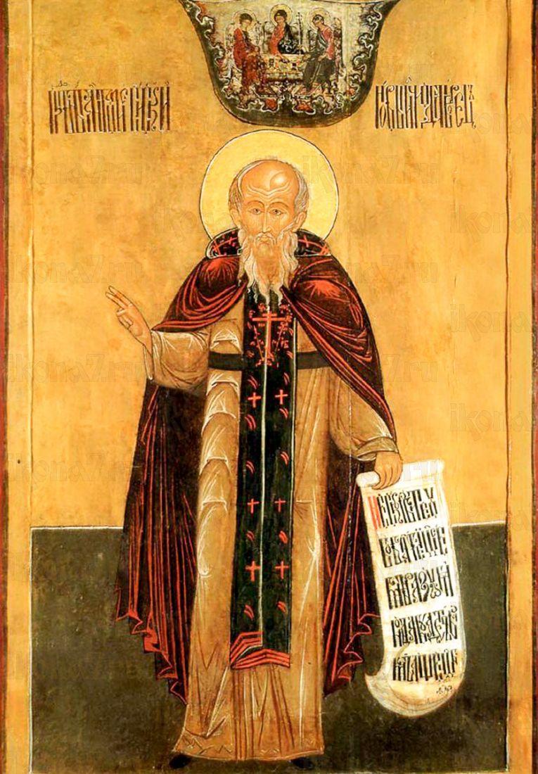 Икона Антоний Сийский (копия старинной)