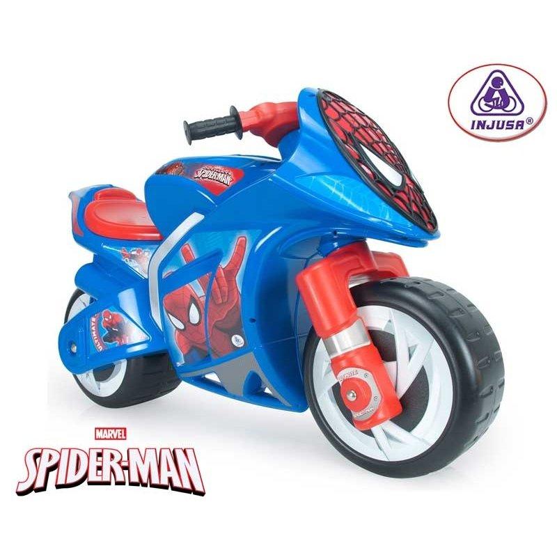 Каталка-мотоцикл Injusa человек-паук