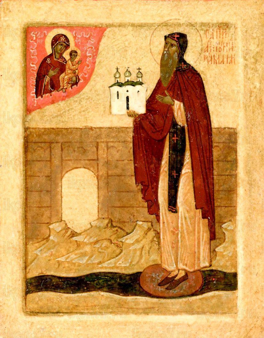 Антоний Римлянин (копия старинной иконы)