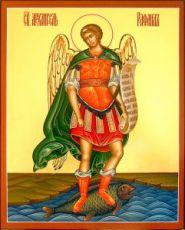 Рафаил Архангел (икона на дереве)