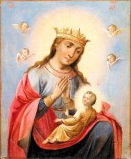 Балыкинская икона Божией Матери (копия 19 века)