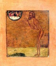 Икона Василий Блаженный (копия 16 века)