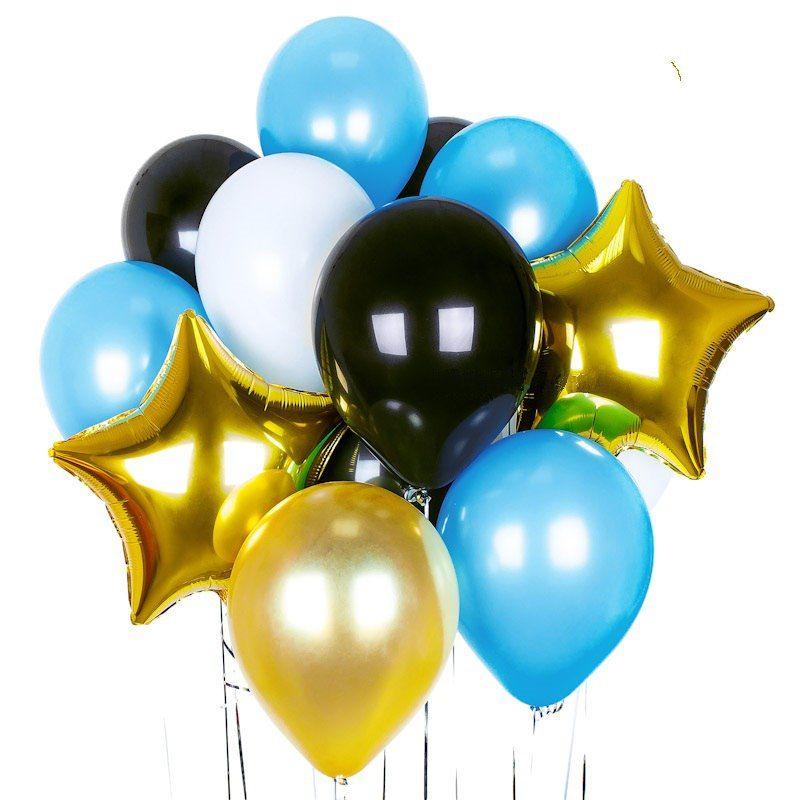 Набор гелиевых фольгированных шаров МОРСКОЙ