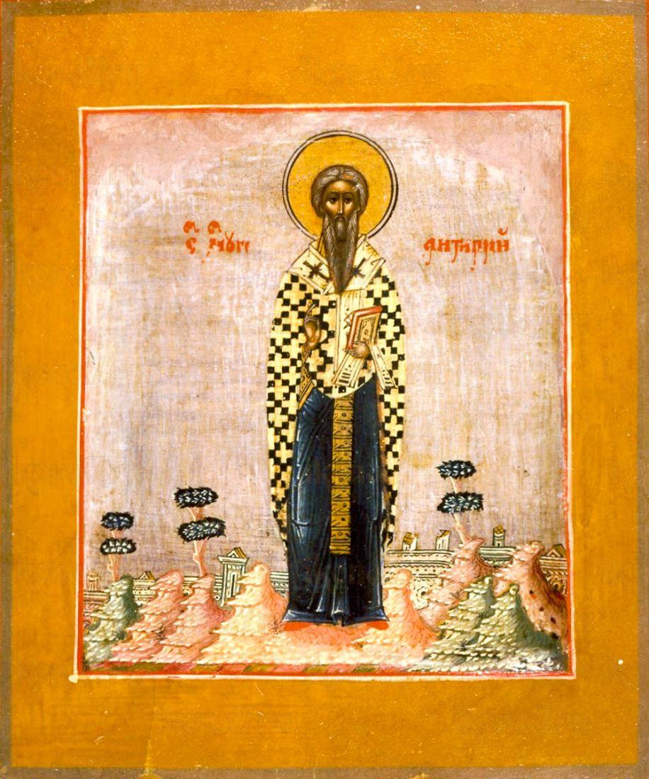 Икона Антипа Пергамский (копия 19 века)