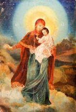 Августовская икона Божией Матери (копия старинной)