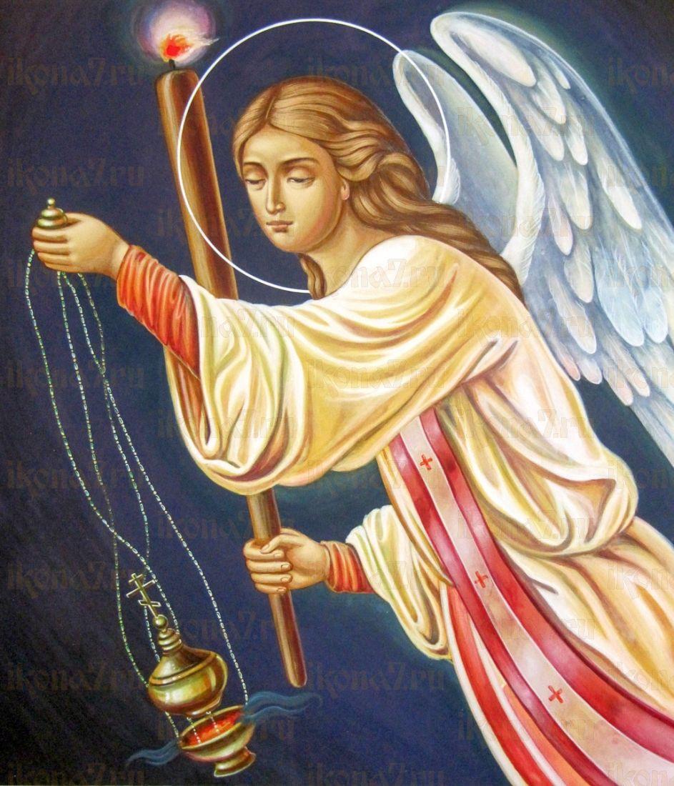 Селафиил Архангел (икона на дереве)