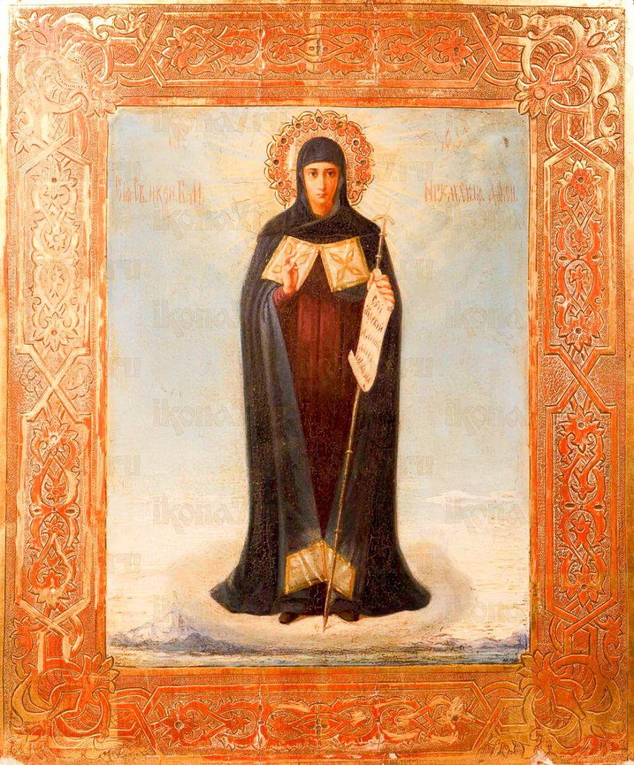Афонская икона Божией Матери (копия 19 века)