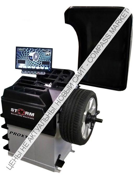 Суперавтоматический стенд балансировки и виброконтроля колес Proxy8