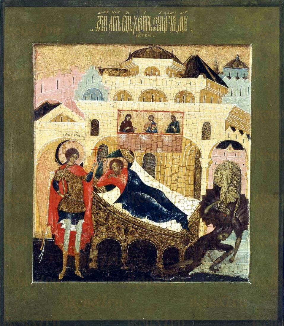 Ангел хранит спящего (копия старинной иконы)