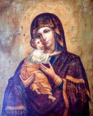Владимирская икона Божией Матери (копия старинной)