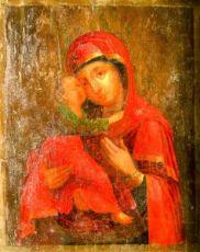 Владимирская икона БМ (копия старинной)