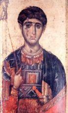 Димитрий Солунский (копия старинной иконы)
