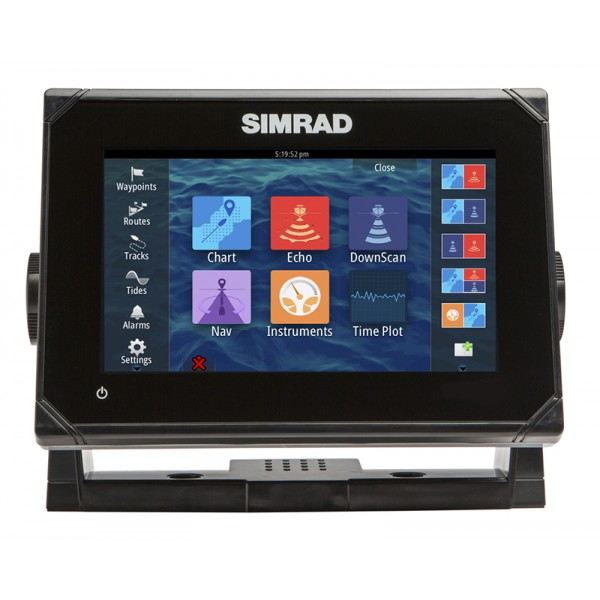 Simrad GO7 ROW XSR с TOTALSCAN