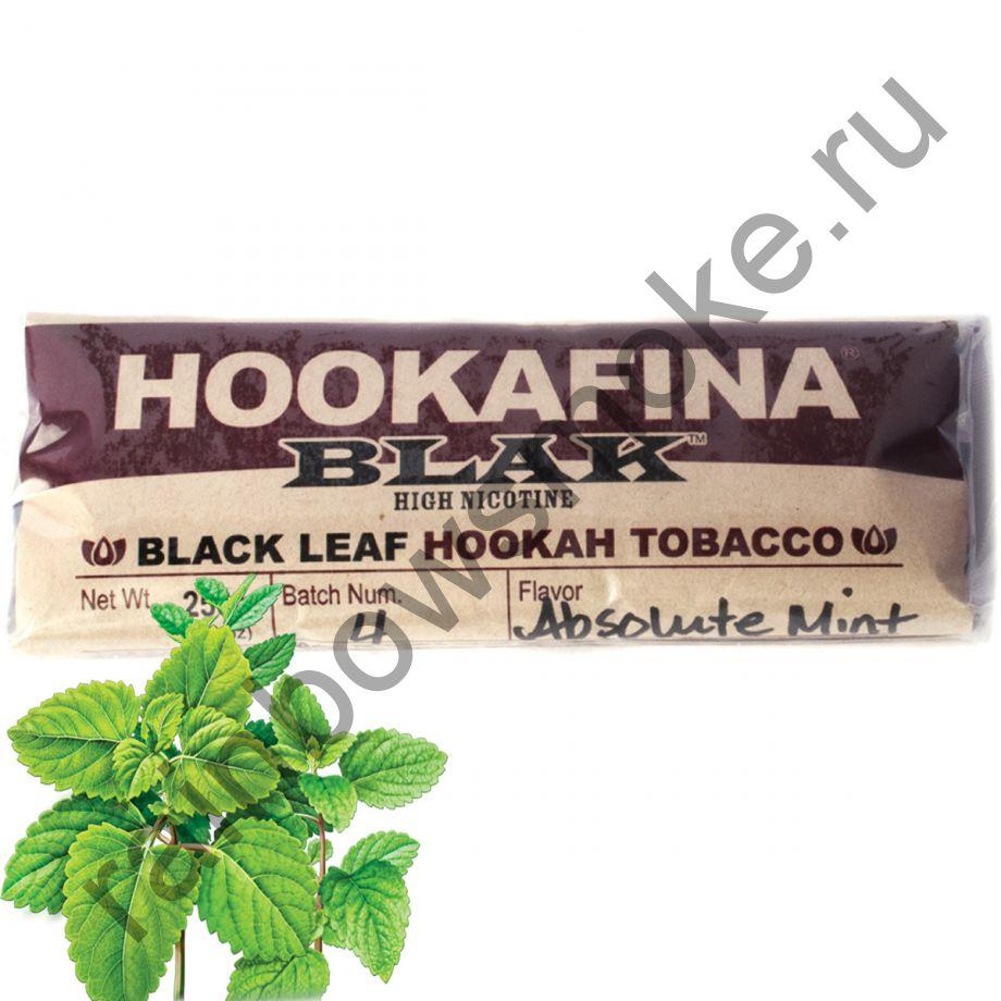 Hookafina Black 250 гр - Absolute Mint (Мята Абсолютная)